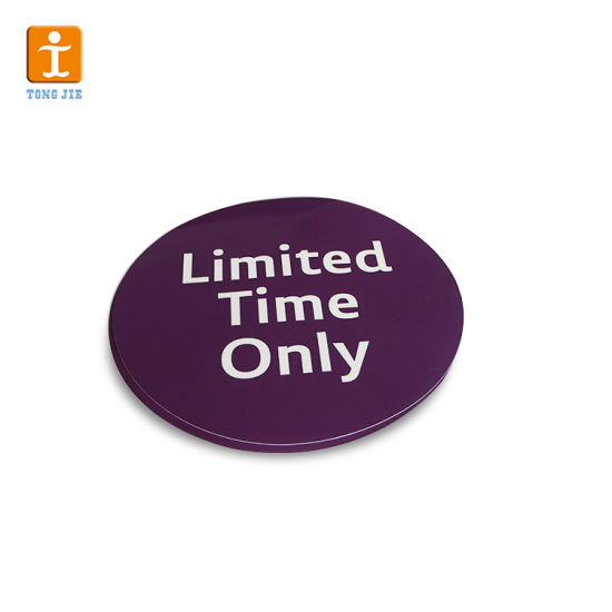 Quality Products Clear Plastic Label Stickers Printing