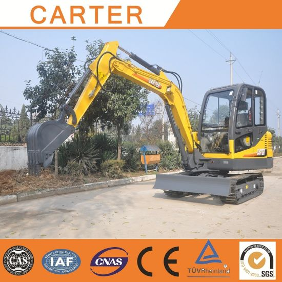 Hot Sales CT45-8 (4.5t) Hydraulic Multifunction Crawler Mini Digger pictures & photos