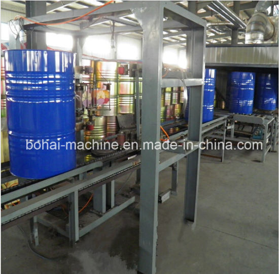 Hydraulic up-Coiler Device for Steel Drum Production Line pictures & photos