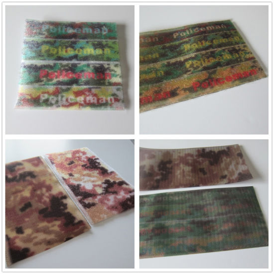 Printed Nylon/Polyester Hook and Loop