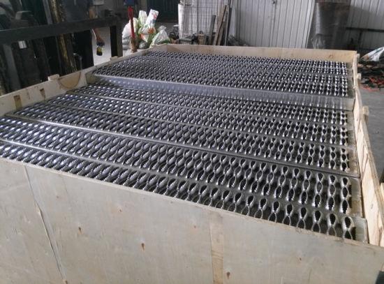 Tec-Sieve Grip Strut Plank Grating Safety Stair Treads/Perforated Metal Walkway/Catwalk
