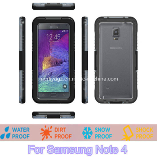 Newest Waterproof Case for Samsung Note4 pictures & photos
