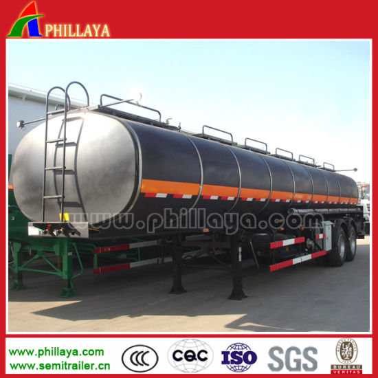 30-60m3 Oil Tanker Transport Fuel Tank Trailer for Sale pictures & photos