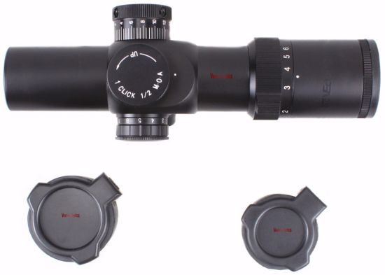 Vector Optics 1-6X 28mm Gun Shooting Rifle Scope Clear Glass MP Reticle with Low Picatinny Mount Ring pictures & photos