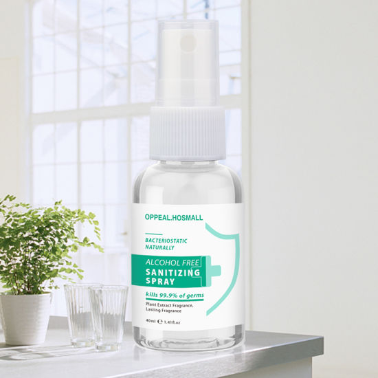 Hot Selling Disinfectant Spray Fogger Liquid Use in Clothing Furniture -40ml Alcohol Free