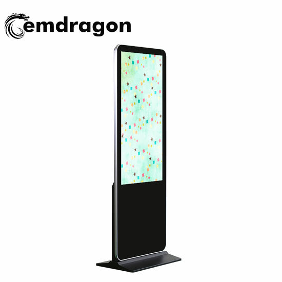 49 Inch Commercial Kiosk HD LCD Ad Player Infrared LCD Ad Display in out LCD Video Wall with Controller USB Flash Drive Advertising LCD Digital Signage
