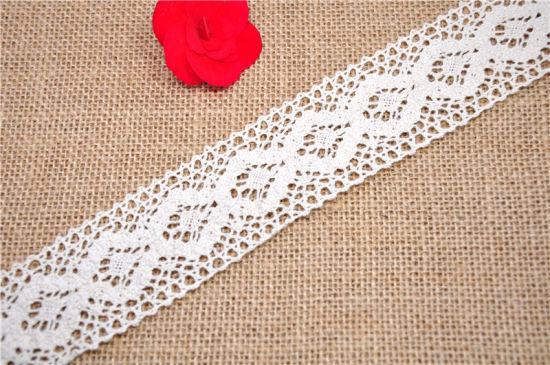 100% Cotton Lace for Garment Accessories