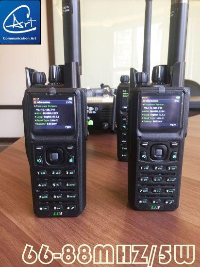 China Security Encrypted 66-88MHz Handheld Radio for Radio