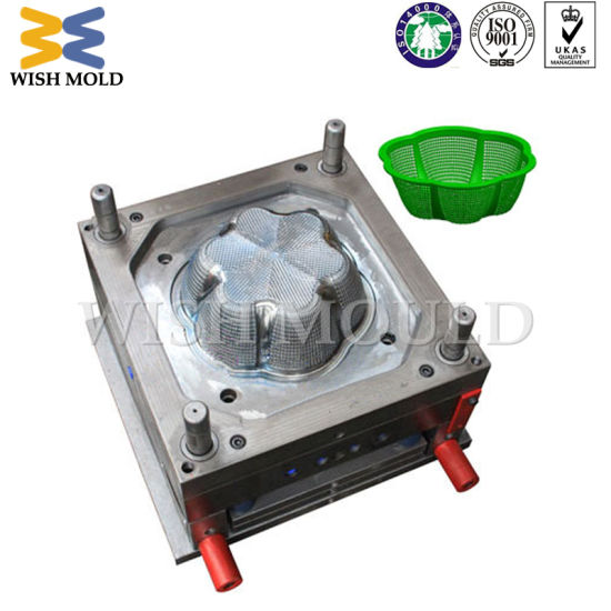 Plastic Commodity Injection Mould for Kitchen Machine Vegetable Basket Mold
