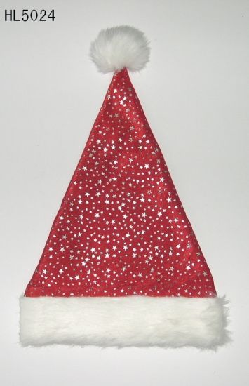 Wholesale Red Christmas Santa Claus Hat