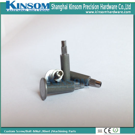 Special Steel Flat Head Knurling Semi Tubular Rivets pictures & photos