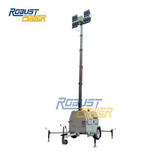 Euro Trailer EPA Tier 3 4*480W LED Mobile Light Towers