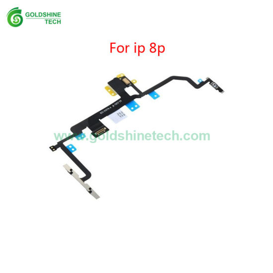 (Wholesale iPhone replacements) Power on off Switch Control Button Volume Flex Ribbon for iPhone 8