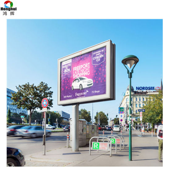 P10 SMD3535 Outdoor Advertising LED Display Sign