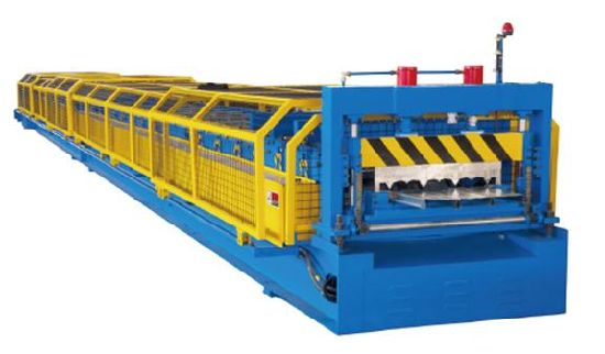 Full Automatic Galvanized Steel Decking Floor Roll Forming Making Machine Factory Price with ISO9001/Ce