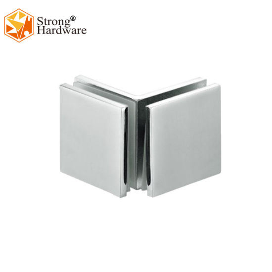 Casting Material SS304/Zinc Alloy/Brass 45*45mm Square Double Side Glass Clamp