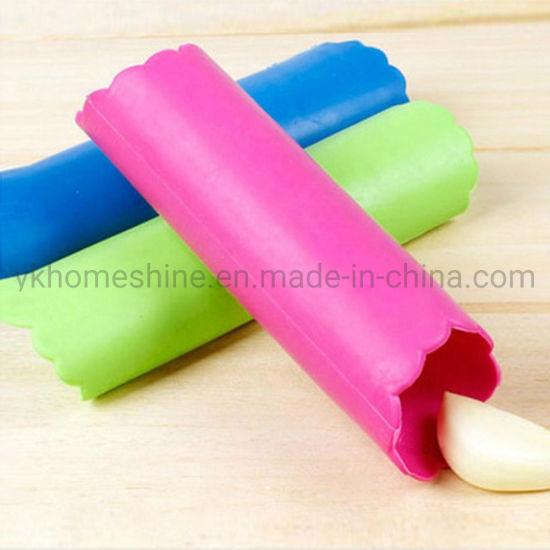 Kitchen Tool Utensil 100% Food Grade Silicone Garlic Peeler