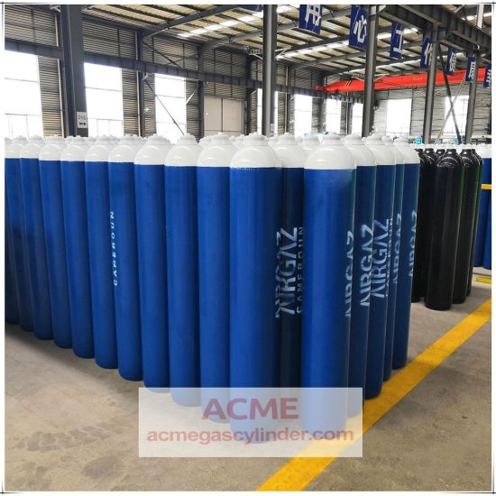 High Standard Seamless Steel Oxygen Gas Cylinders for Sale