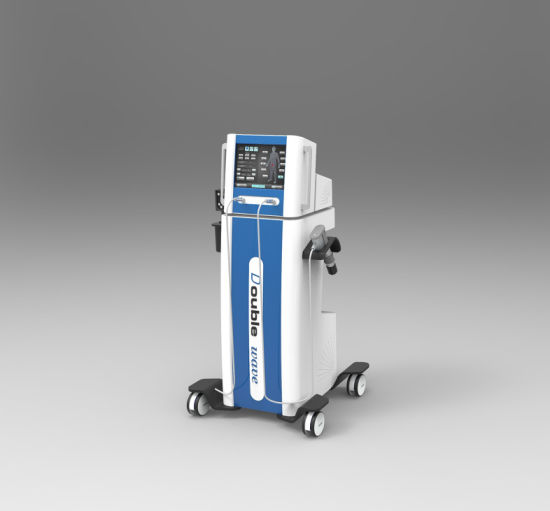 Eswt Electromagnetic and Air Pressure Shock Wave Physiotherapy Machine pictures & photos