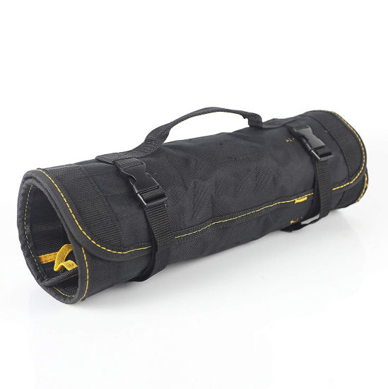 25 Pockets Durable Rolling Tool Bag Professional Electricians Organizer Heavy Duty Tool Bag