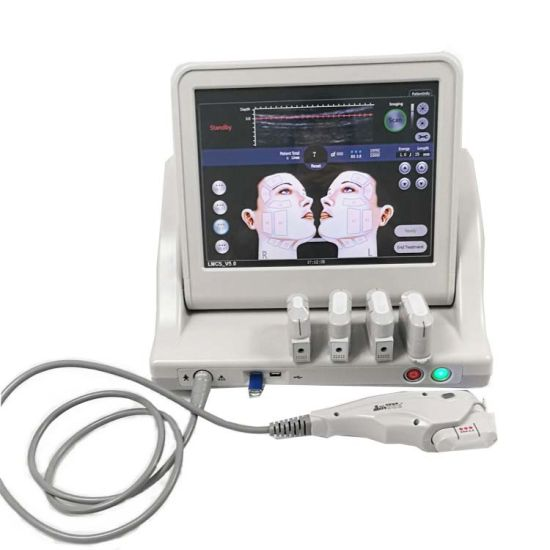 Hot Sale Face Lifting Hifu Machine with 5 Cartridge to Remove Wrinkles