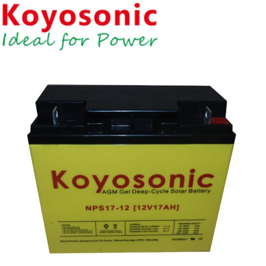 5-Year Warranty Battery for Photovoltaic Cells 12V 33ah Solar Panel Battery