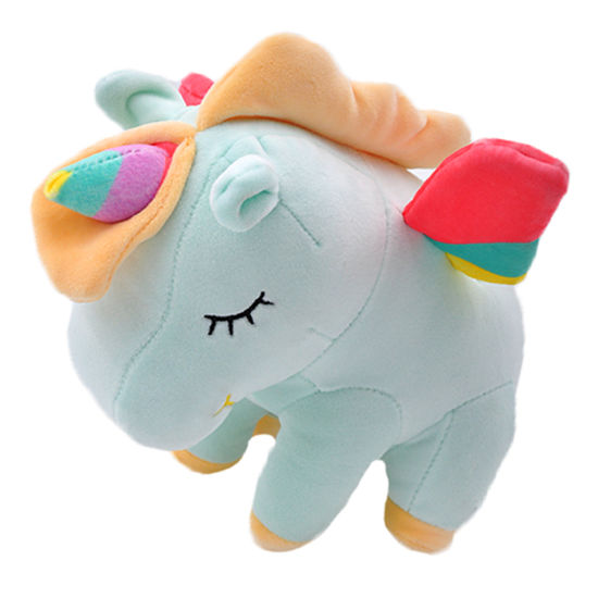 Best Valentine's Day Gift Stuffed Animal Peluches Rainbow Baby Unicorn Plush Toys