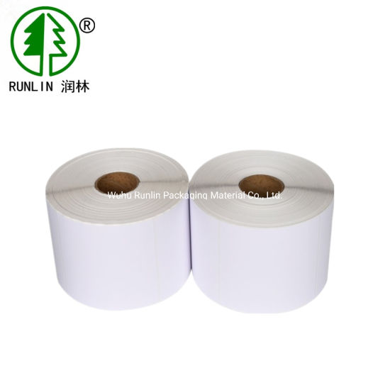Printing Self-Adhesive Roll Lables Paper Personalized Label Sticker