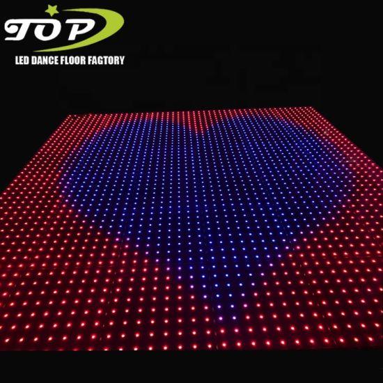 With iPad Control Best Price Magnet White Wedding Illuminated LED Disco Dance Floor Hire