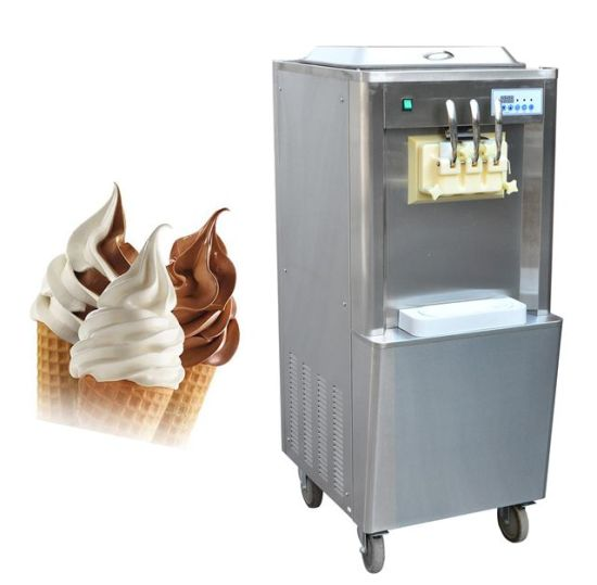 Commercial 3 Flavors Soft Serve Ice Cream Machine Frozen Yogurt Machine Ice Cream Machine pictures & photos