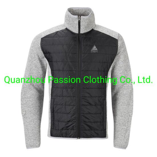 Wholesale Mens Outdoor Winter Casual/Warm/Long/Oversized Navy/Blue/Black/Grey Plus Size Cotton Padding/Padded Jacket