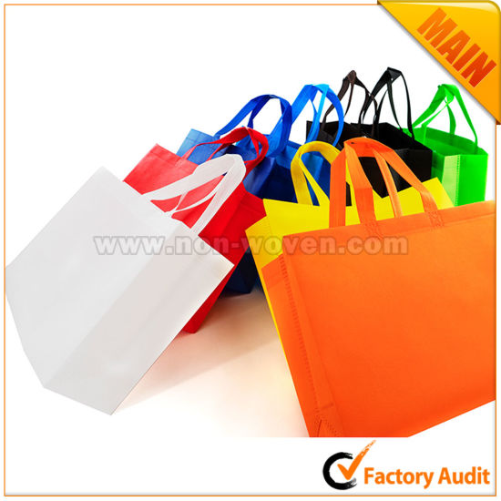 Eco-Friendly Tote Non Woven Shopping Bags pictures & photos