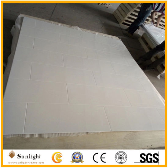 Glossy White Cultured Marble Tub Surround Panel for Apartment/Hotel