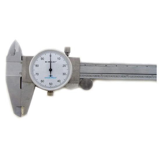 6 Inch//150mm Stainless Steel Vernier Caliper Micrometer Gauge Inch Range Tools