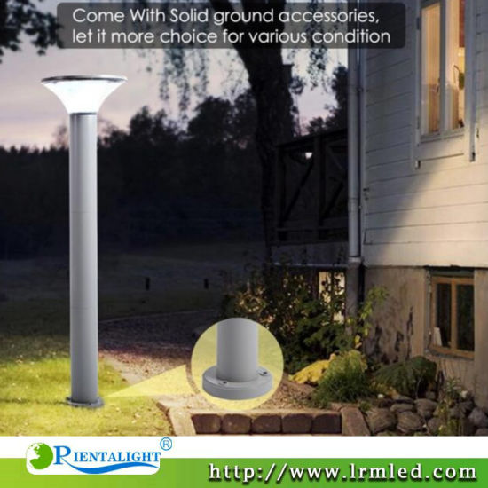 Outdoor Lamp Courtyard Landscape IP65 5W 7W Lawn Solar Powered LED Street Garden Light pictures & photos