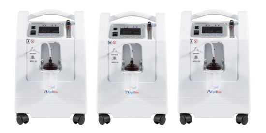 Rechargeable 5L Oxygen Concentrator/5L Oxygen Generator with Battery