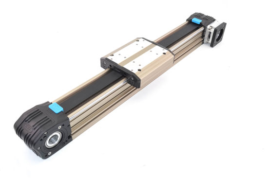 Belt Driven Linear Module Precise Linear Guide Rail with Servo Motor