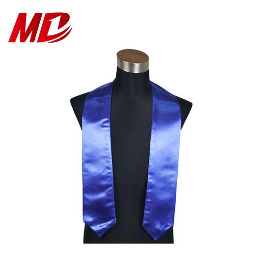 Plain Graduation Stole Royal Blue