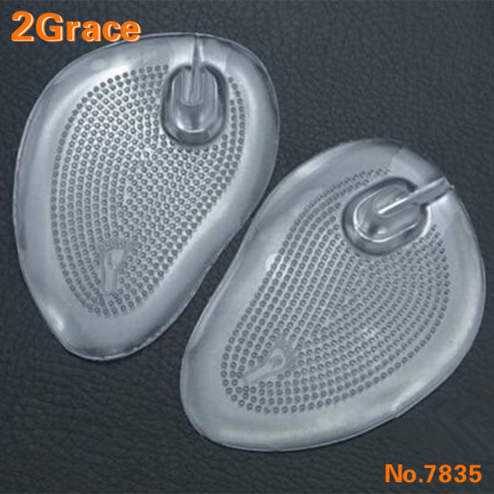 1 Pair Silicone Gel Inserts Cushion Foot Care Insoles For Flip flop Sandals New