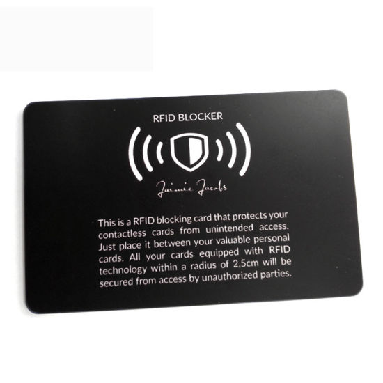 RFID Blocking Card,  RFID Card, Signal Blocking Card