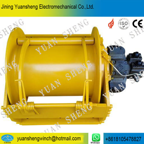 Dredger Hydraulic Winch for Lifting and Pulling