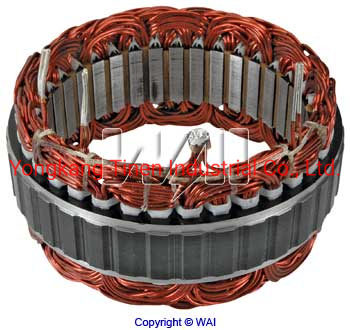 Stator 100 AMP/12 Volt• Hitachi 100A IR/If Alternators