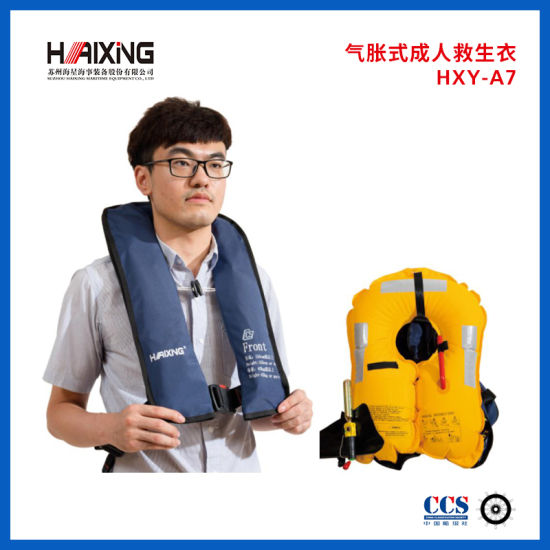 Ce Automatic or Manual Inflatable Life Jacket Life Vest for Adult