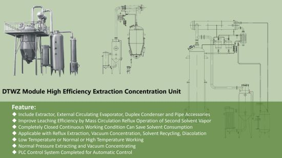 China Multi Solvent Extractor With Ethanol Extraction Processes China Solvent Extraction Distillation Equipment