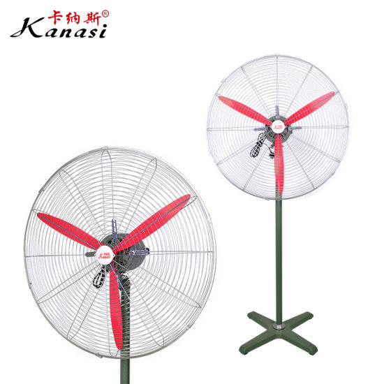 Speed Low Price Hot Sell High Quality Oscillating Electrical Pedestal Stand Fan with Aluminum Fan Blade
