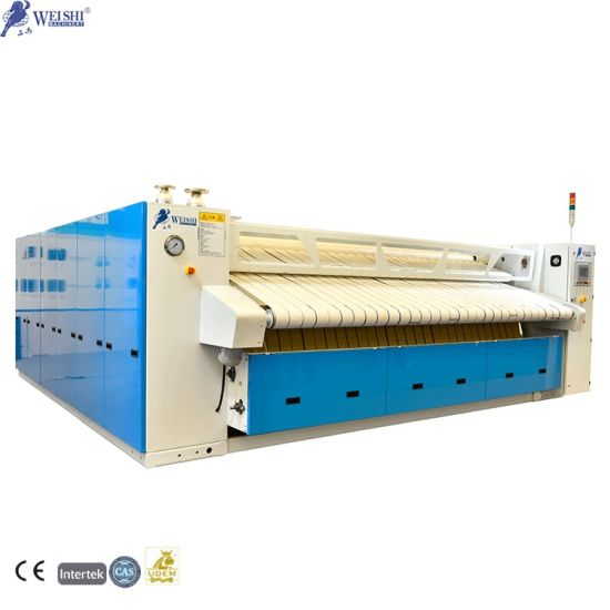 4000mm High Speed Industrial Automatic Ironing Sheets Machine for Laundry