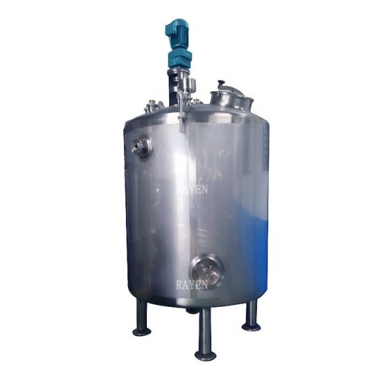 Stainless Steel Beverage Blending Tank Agitator Tank Juice Mixing Tank pictures & photos