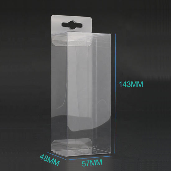 Wholesale Custom Clear PVC/Pet Folding Plastic Display Packaging Box