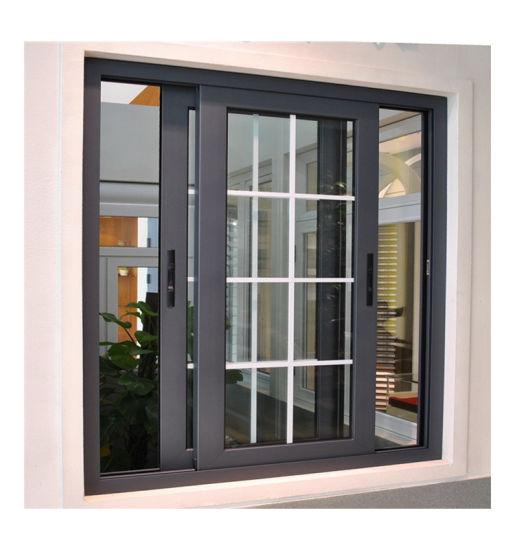 in Dubai Beautiful Sliding Window Grill Design for Aluminum with Grills Design Aluminium Sliding Window
