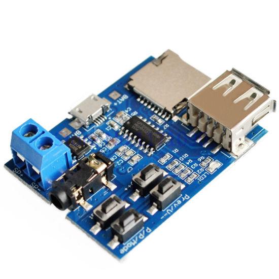 IC Amplifier USB TF U Disk Audio Module PCB Curcuit MP3 Board Player
